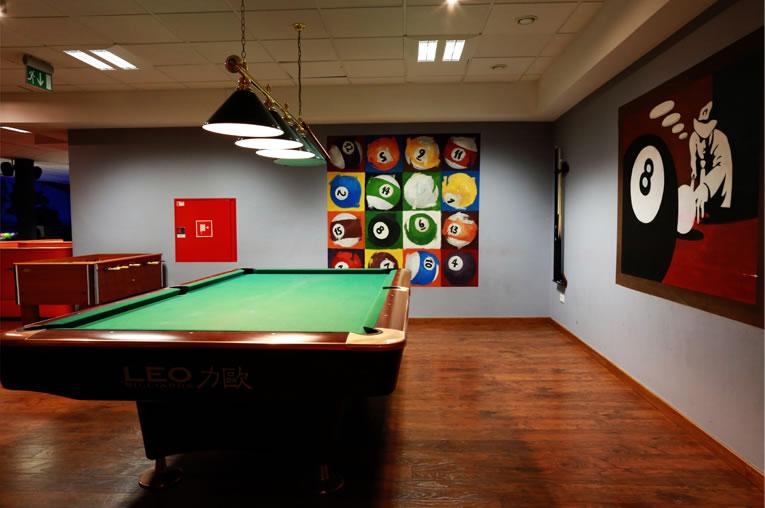 Profesjonalne stoły do bilardu czekają w Joanna Restauracja&Hotel w Kątach Opolskich